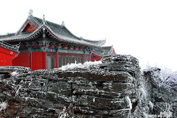 魅力梵净山雪景
