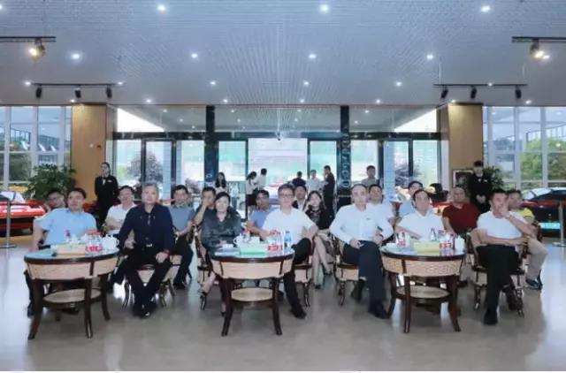 我会高峰会长同广东省贵州太阳城娱乐平台联盟考察团到安考察